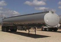 9000 gallon tanker